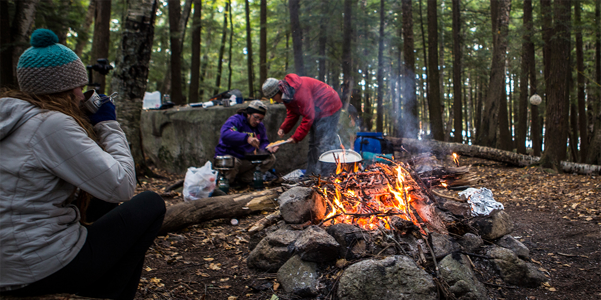 Camping along the 90-Miler Route