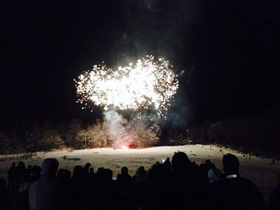 Fireworks New Years Eve Oak Mountain