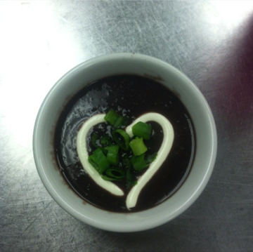 Black Bean Soup Melody Lodge