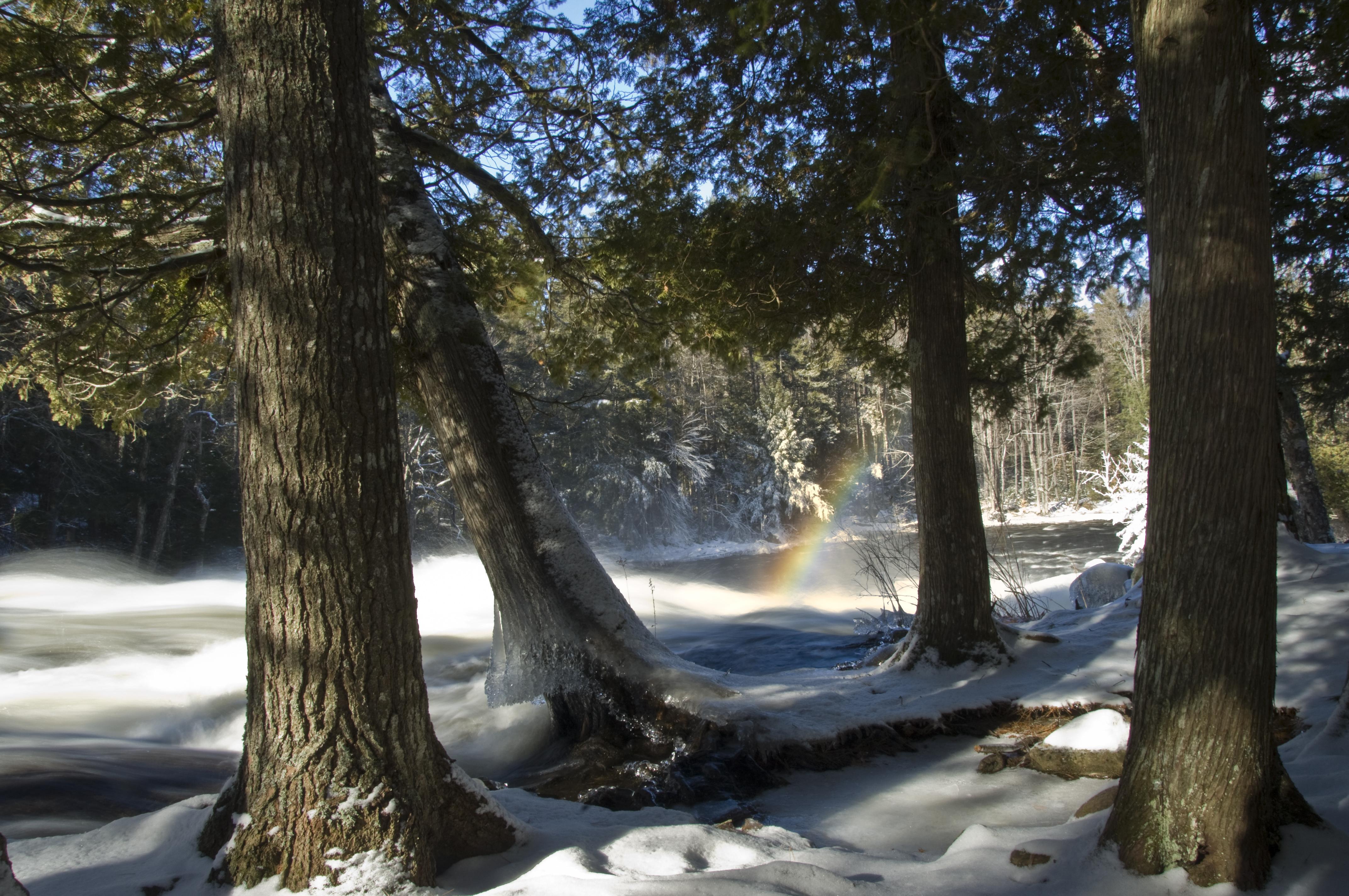 Buttermilk Falls Winter
