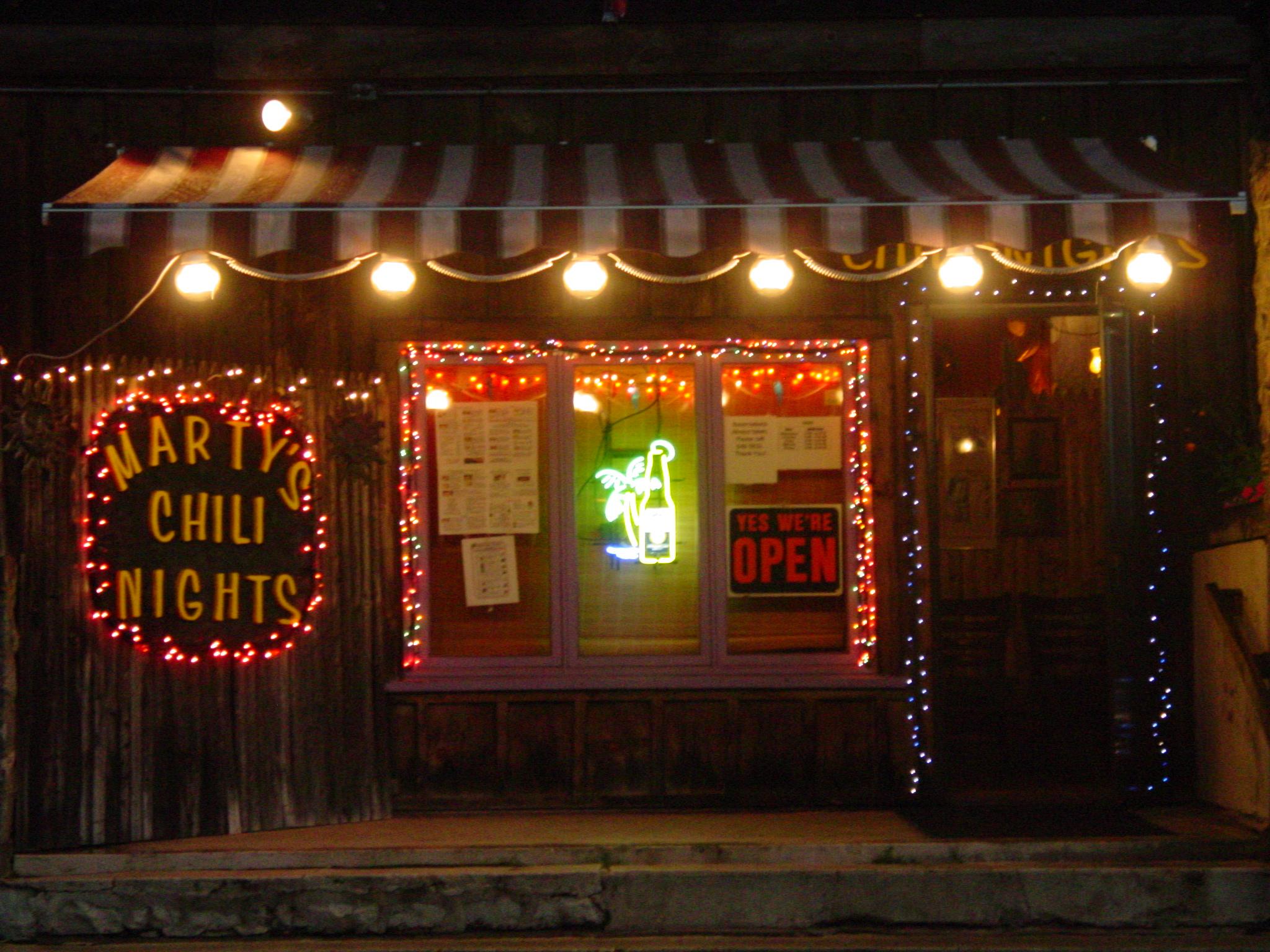 Marty's Chili Nights