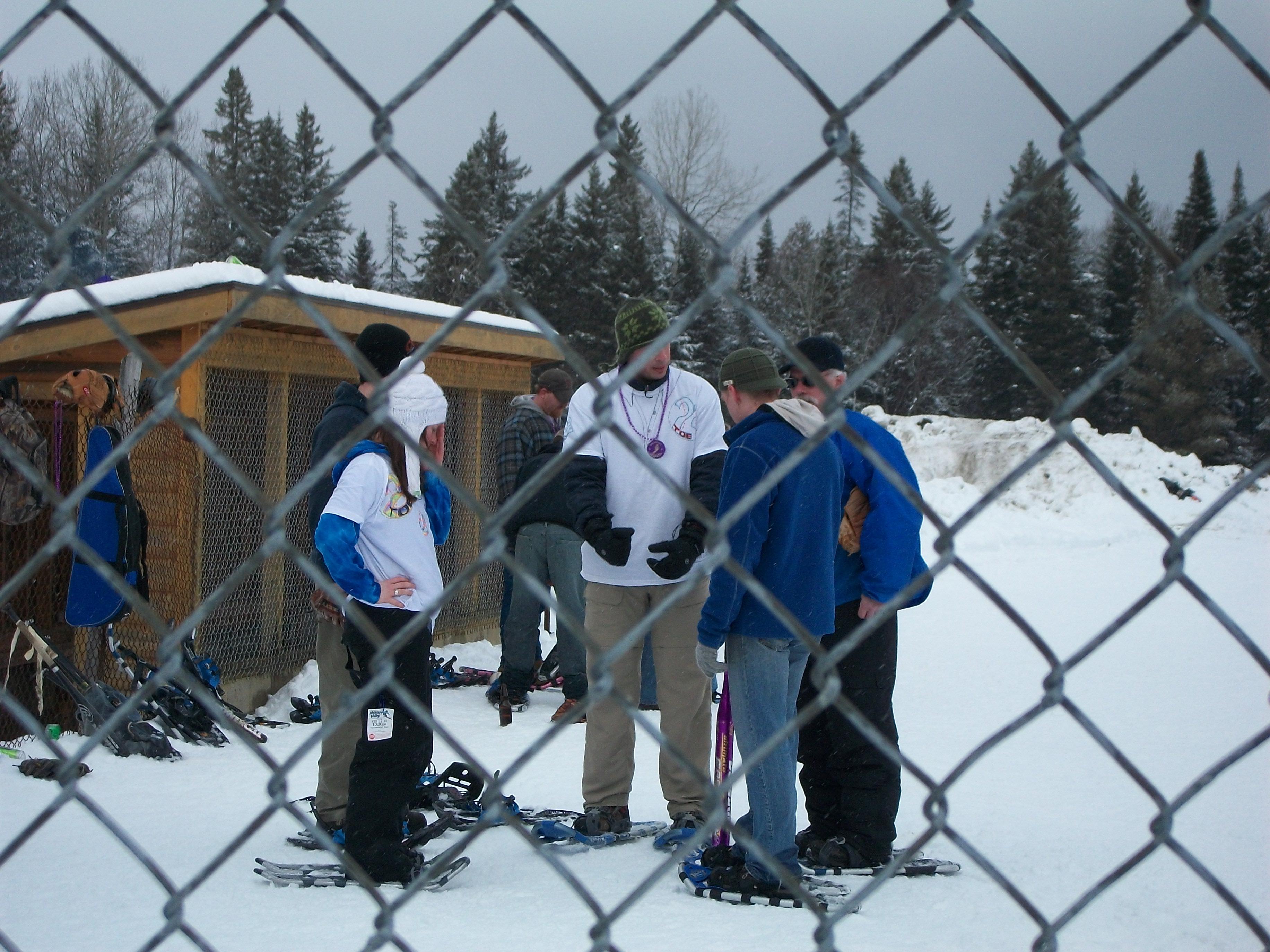 B.A.D. Snowshoe Softball