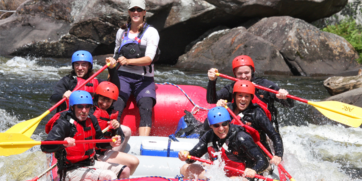 Whitewater Rafting (Photo courtesy of Adirondac Rafting Co.)