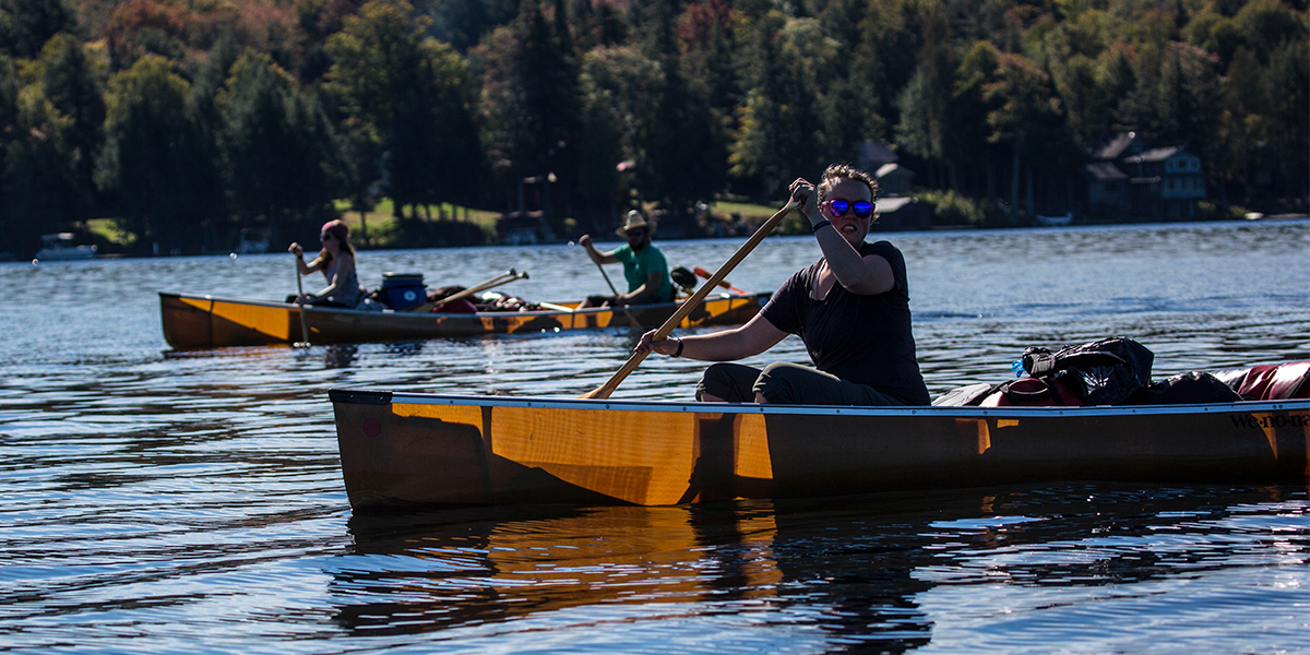 Paddling the Fulton Chain of Lakes