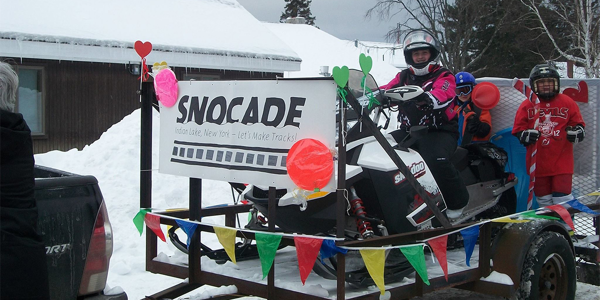 Indian Lake SnoCade Parade