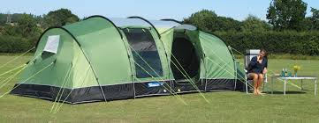 An example of a family tent.