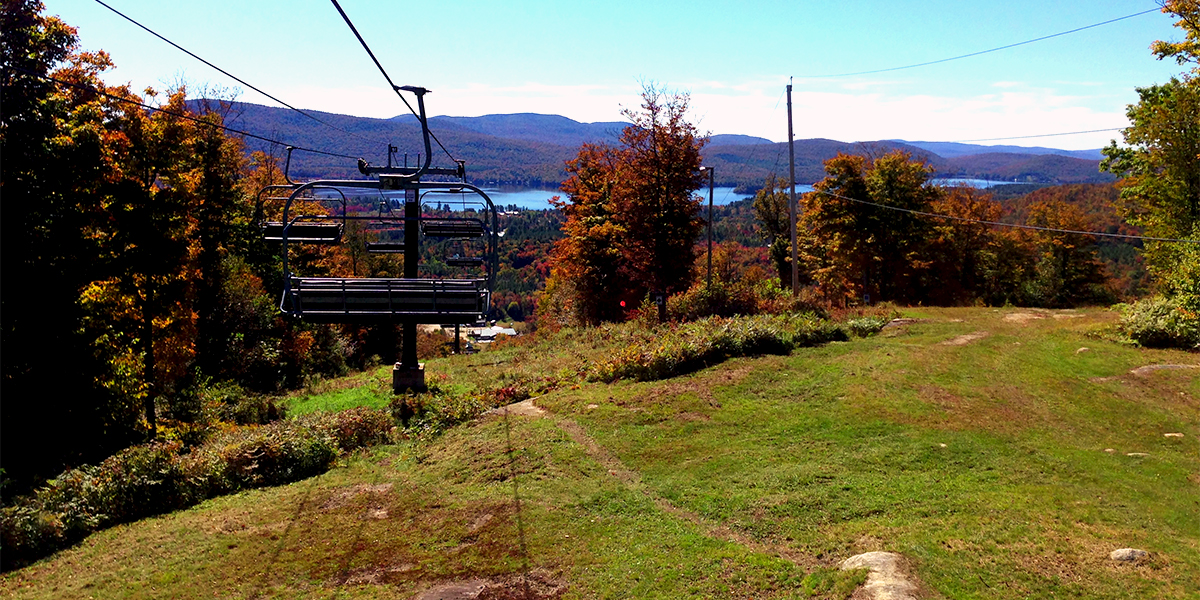 Chairlift at Oak Mountain