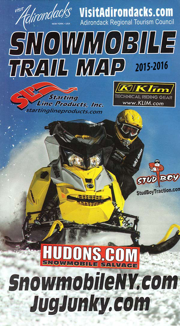 Download your Adirondack Snowmobile Map today!