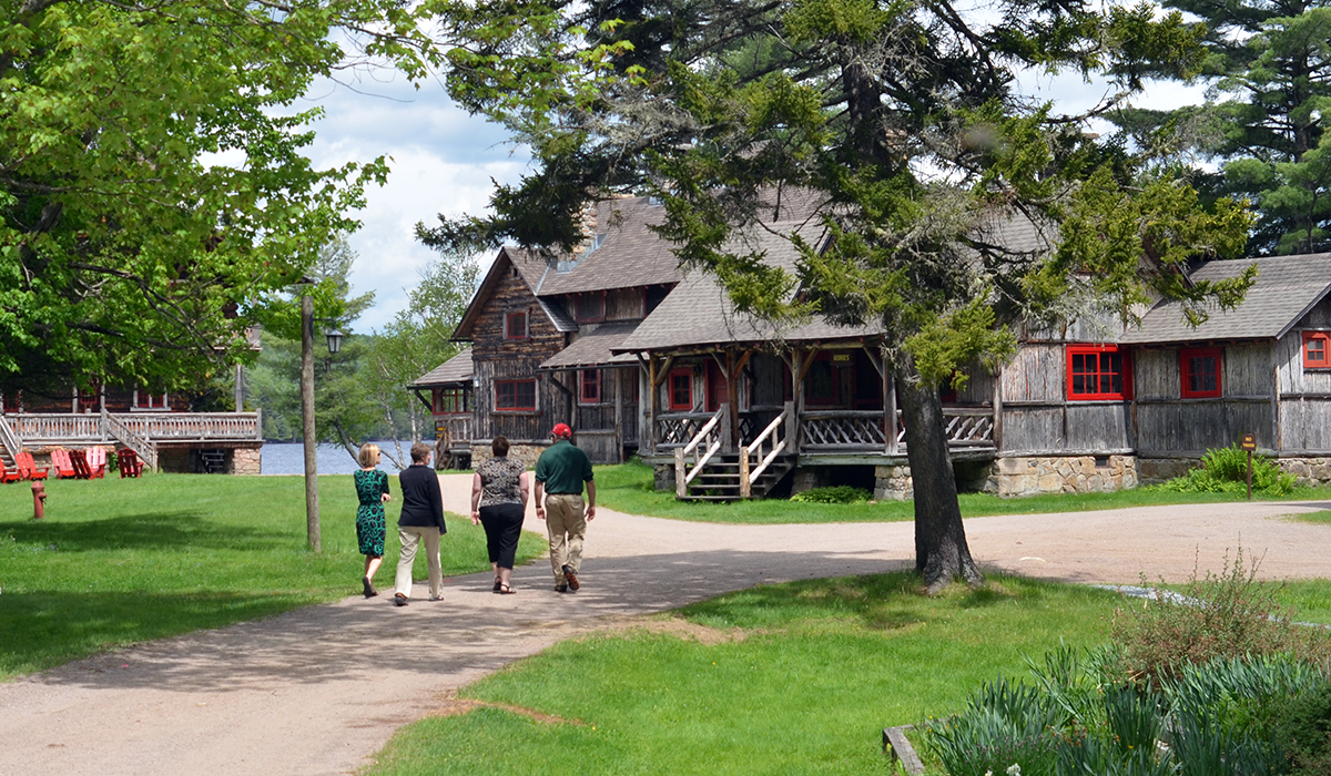 Tour Great Camp Sagamore in Raquette Lake, NY