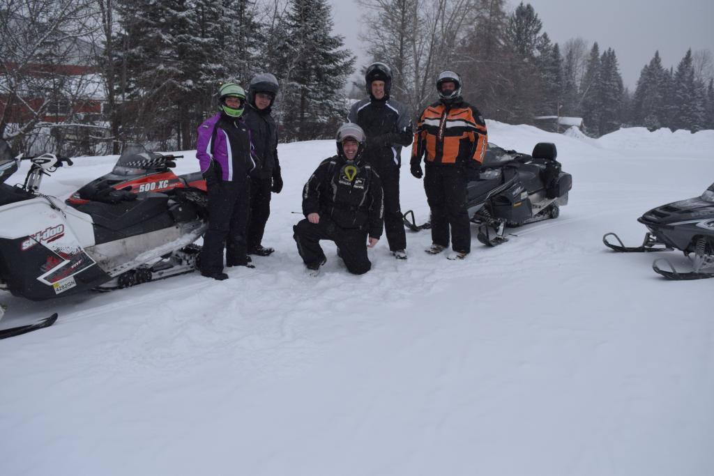 Snowmobile Snocade Indian Lake