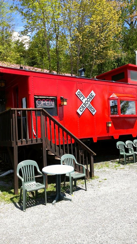 The Caboose Gift Shop