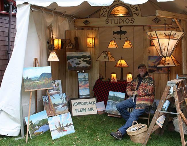 Rustic Furniture Fair Adirondack Experience
