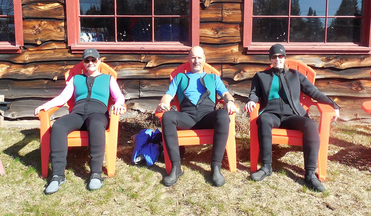 My rafting group