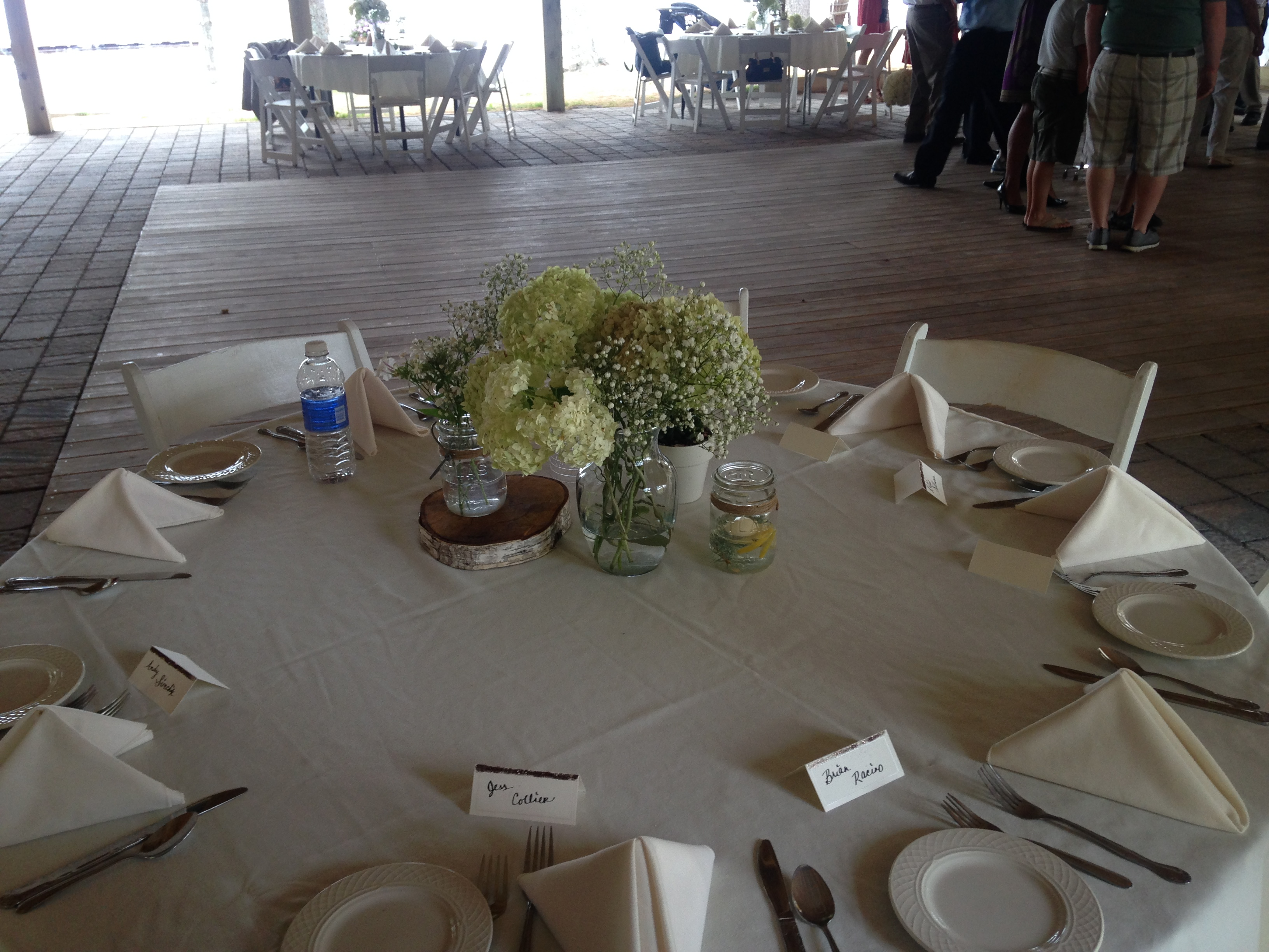 The tables looked great!