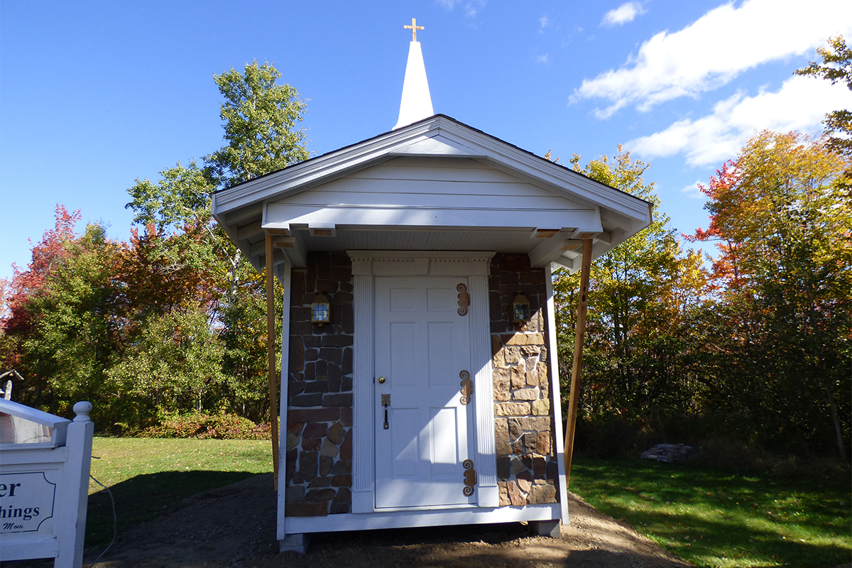 The Church on Route 66 in Speculator, NY