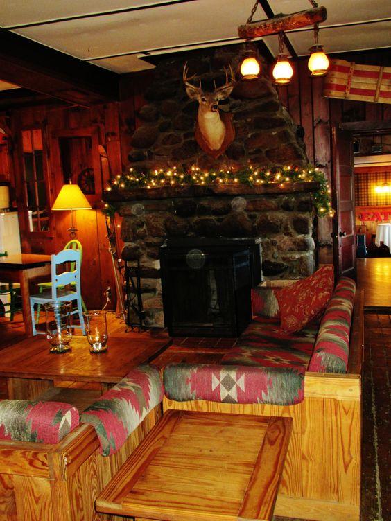 Melody Lodge Fireplace