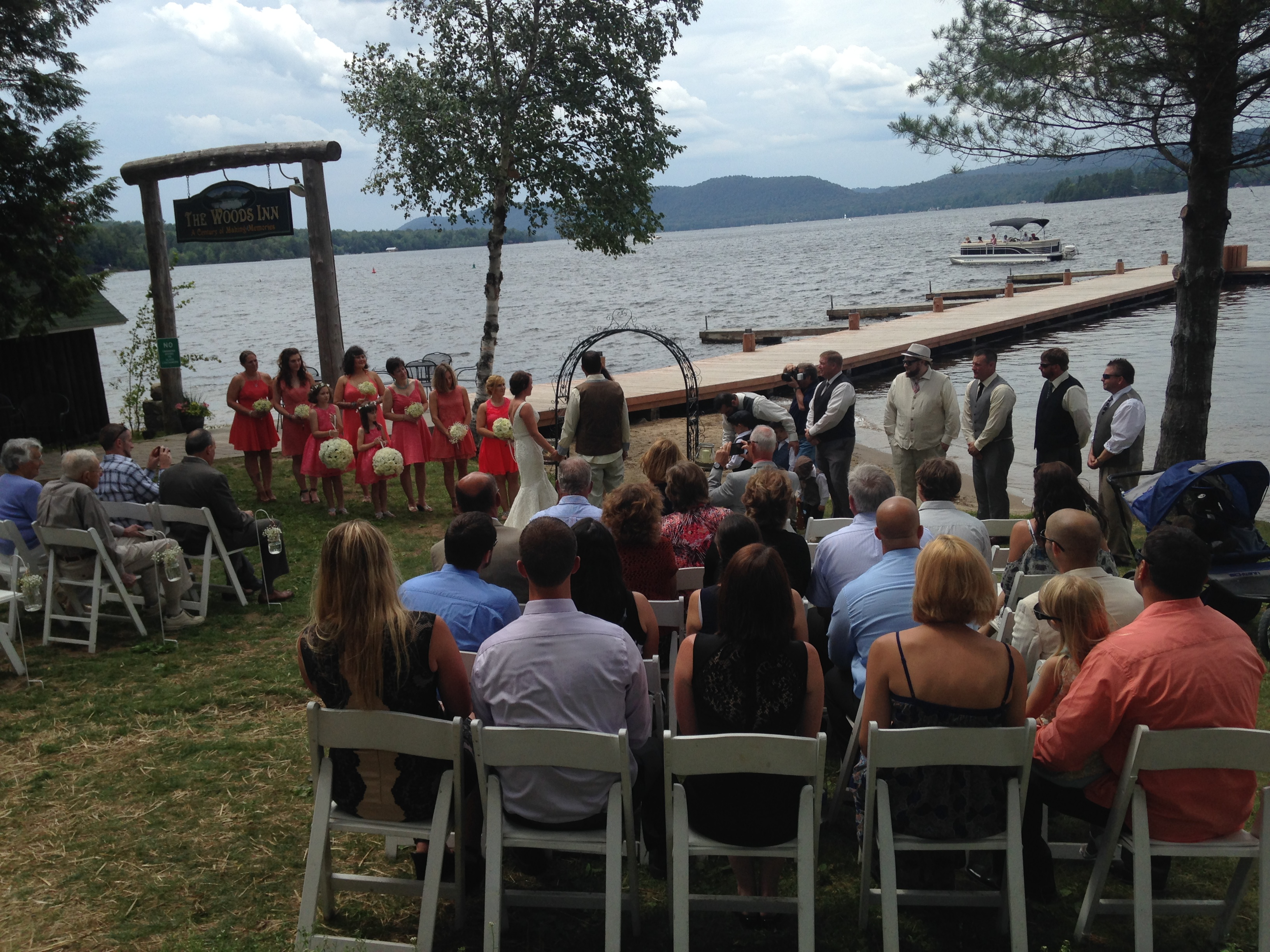 What a beautiful place for a wedding!