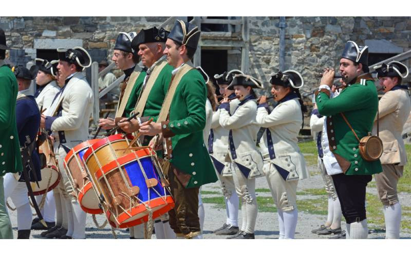 Fort Fever Program: Cadence and Clothing: Music Interpretation at Fort Ticonderoga
