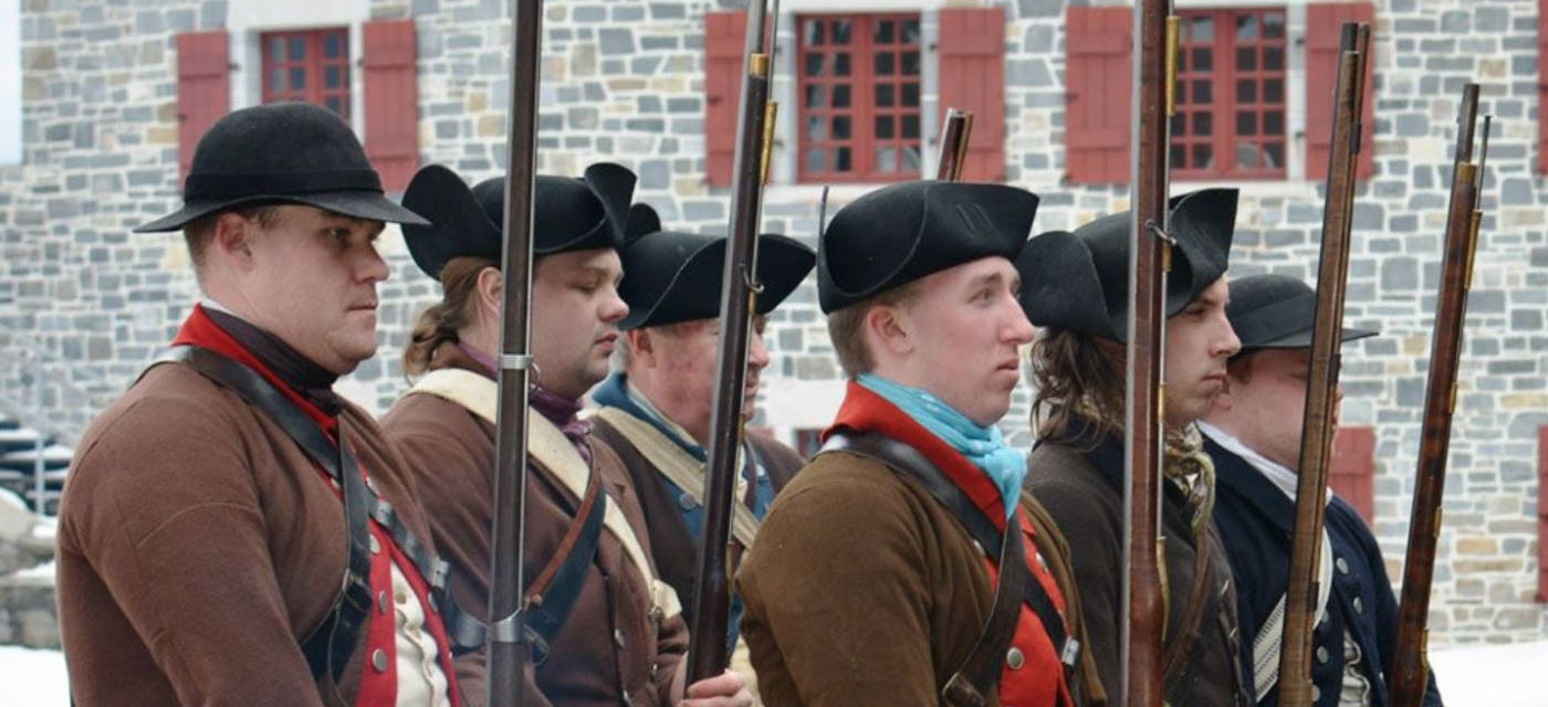Living History Event: Continue in the Service…and Save Their Country