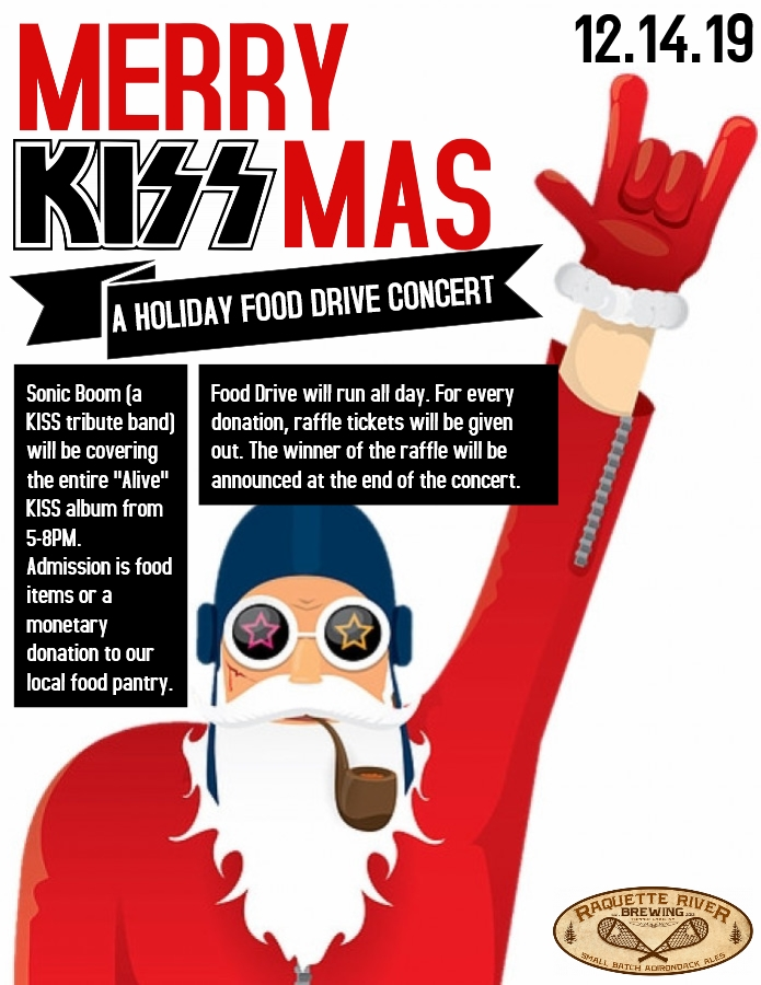 Merry KISSmas (A Holiday Food Drive Concert)