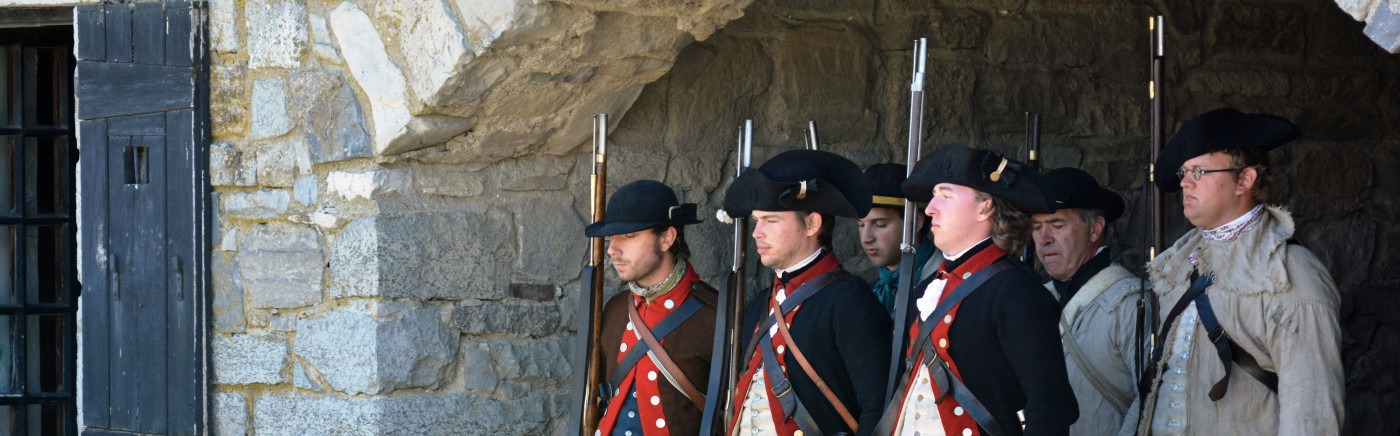 Memorial Day Weekend at Fort Ticonderoga