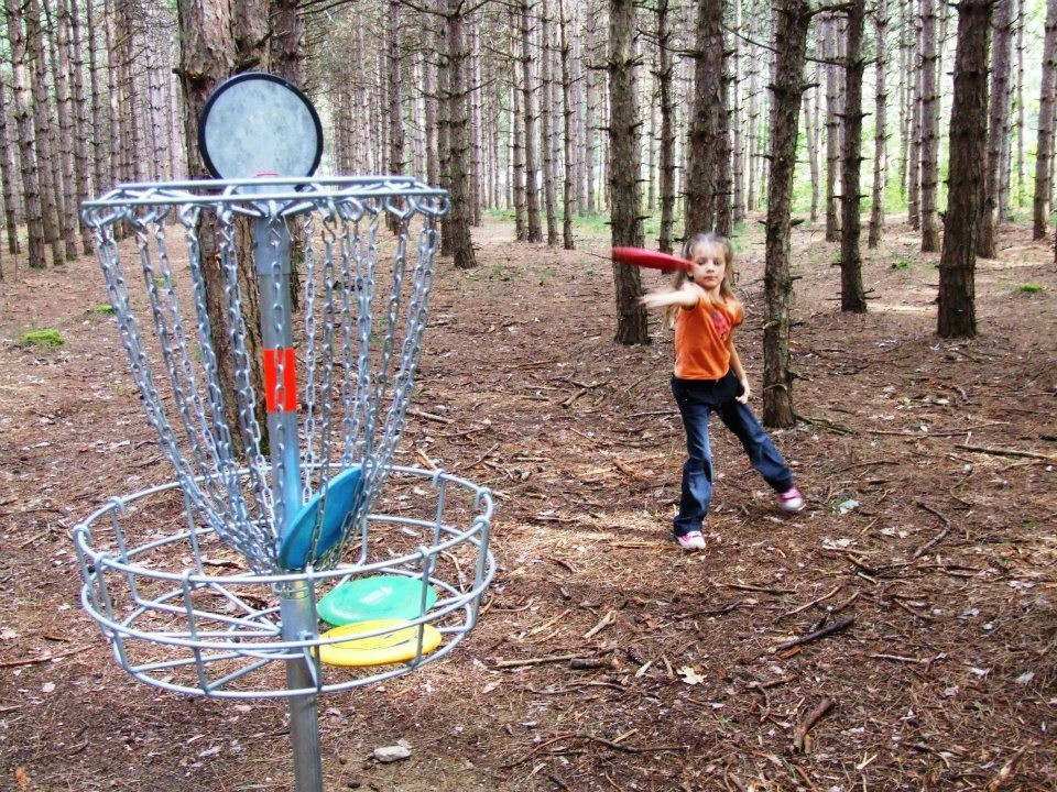Ausable Chasm Disc Golf Course