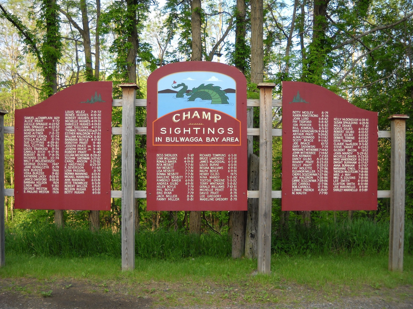Champ Day-The Lake Champlain Monster Festival