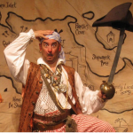 Pirate School - an interactive pirate escapade that promotes manners and social courage