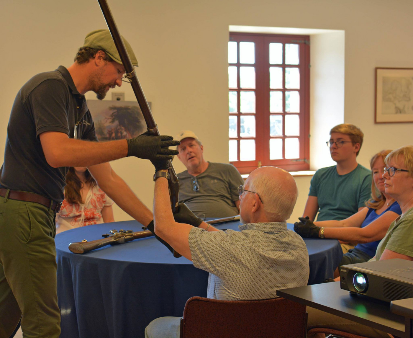 Handle Original Weapons; Exclusive Program at Fort Ticonderoga