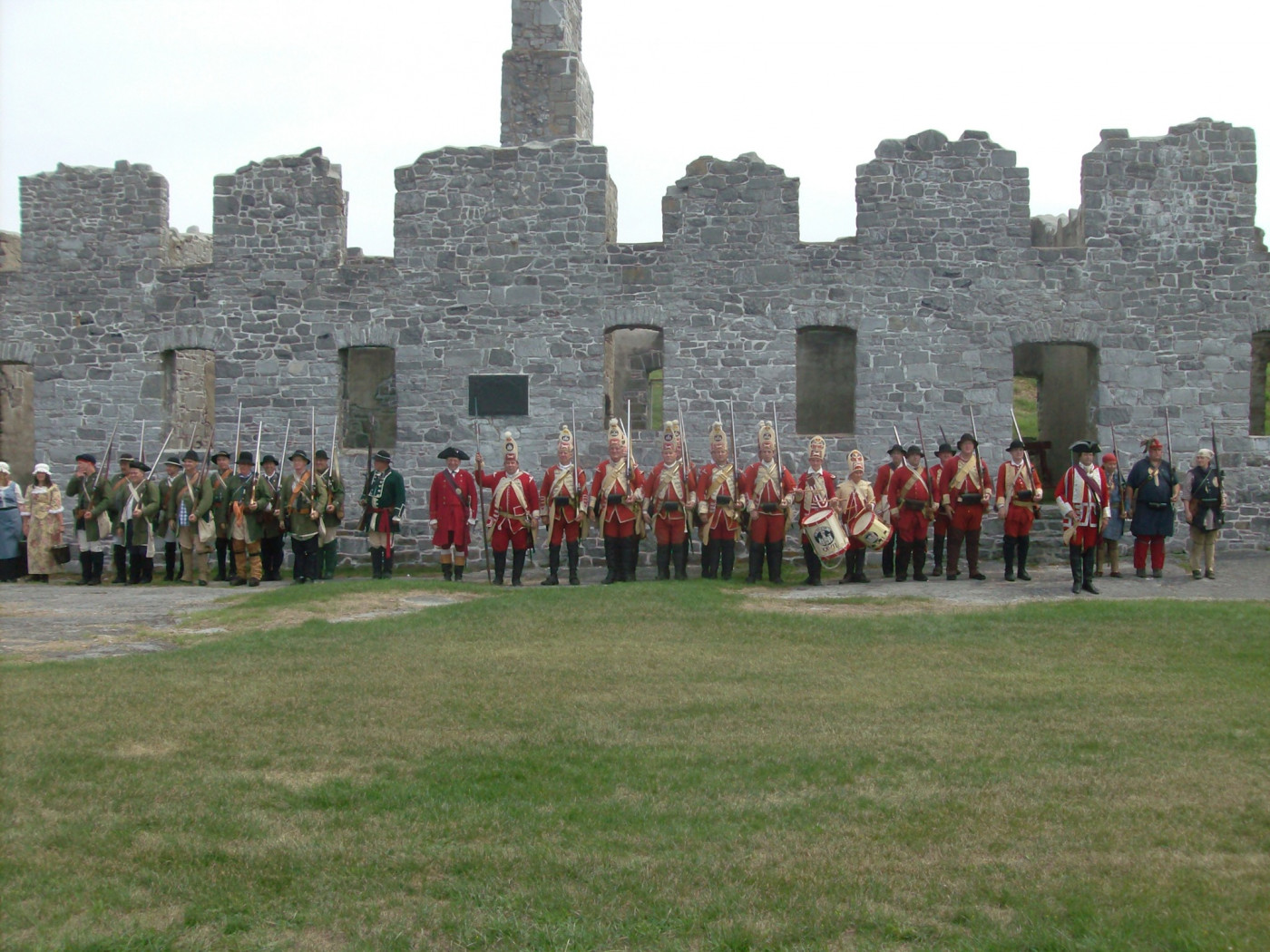 Living History Event at Crown Point State Historic Site