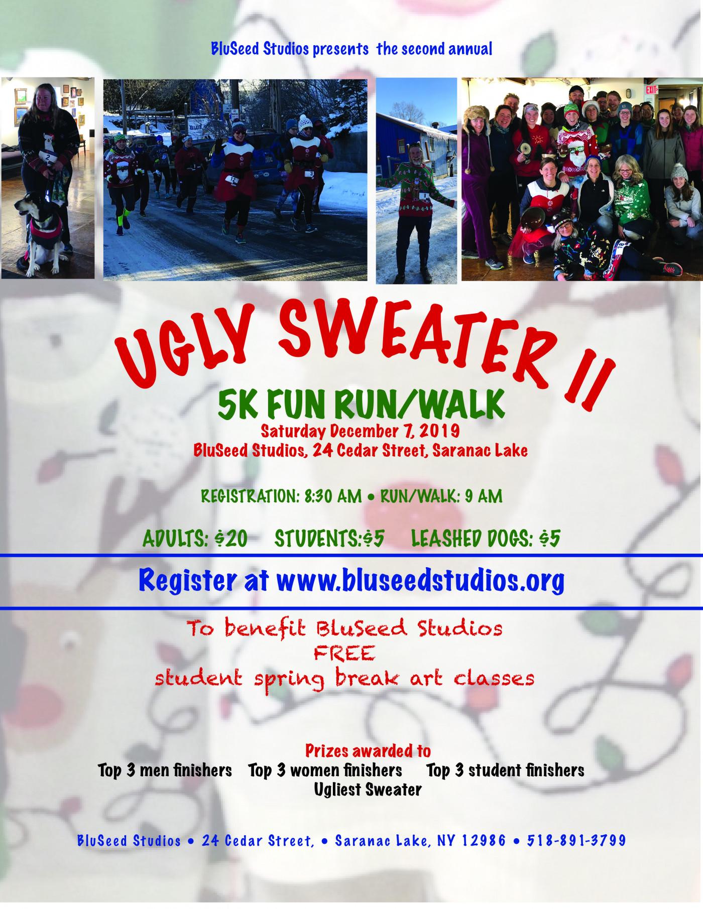 Ugly Sweater 5k Fun Run/walk