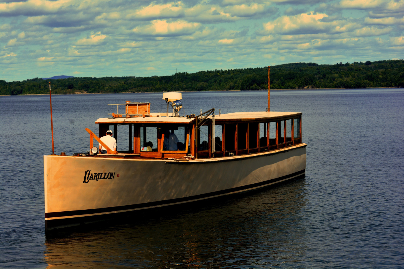 Sunset Cruise on Lake Champlain aboard the Carillon