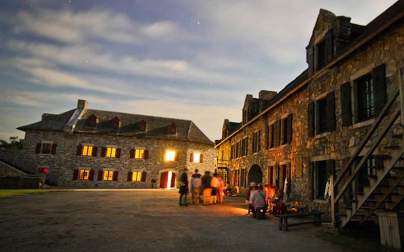 The Gossip Tour of Fort Ticonderoga