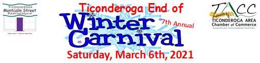 Ticonderoga End of Winter Carnival