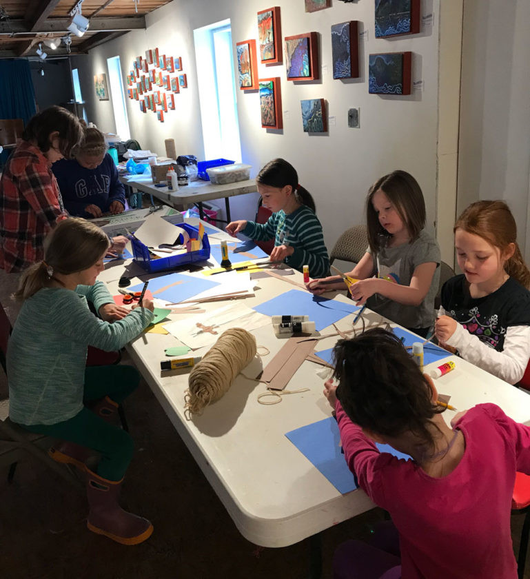Free Art Classes for Area Youth April 15-19 at BluSeed Studios