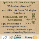 Ausable River Watershed Clean-up
