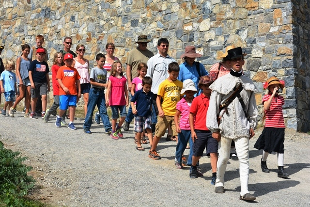 Home School Day at Fort Ticonderoga