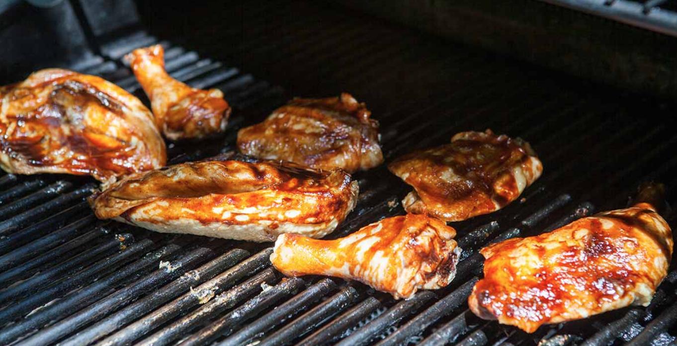 Chicken Barbecue & Basket Raffle