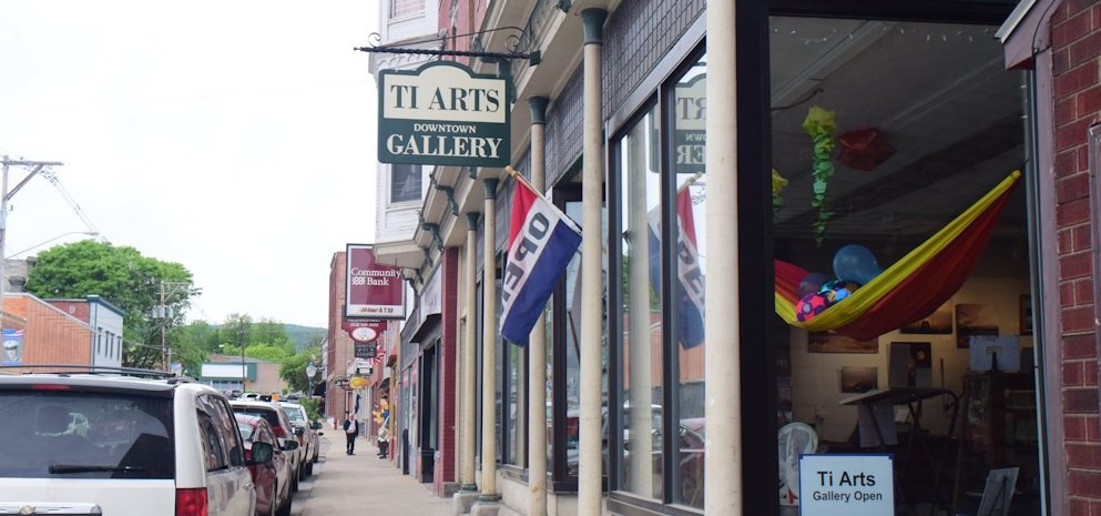 Ti Arts Downtown Gallery presents: Driven to Abstraction
