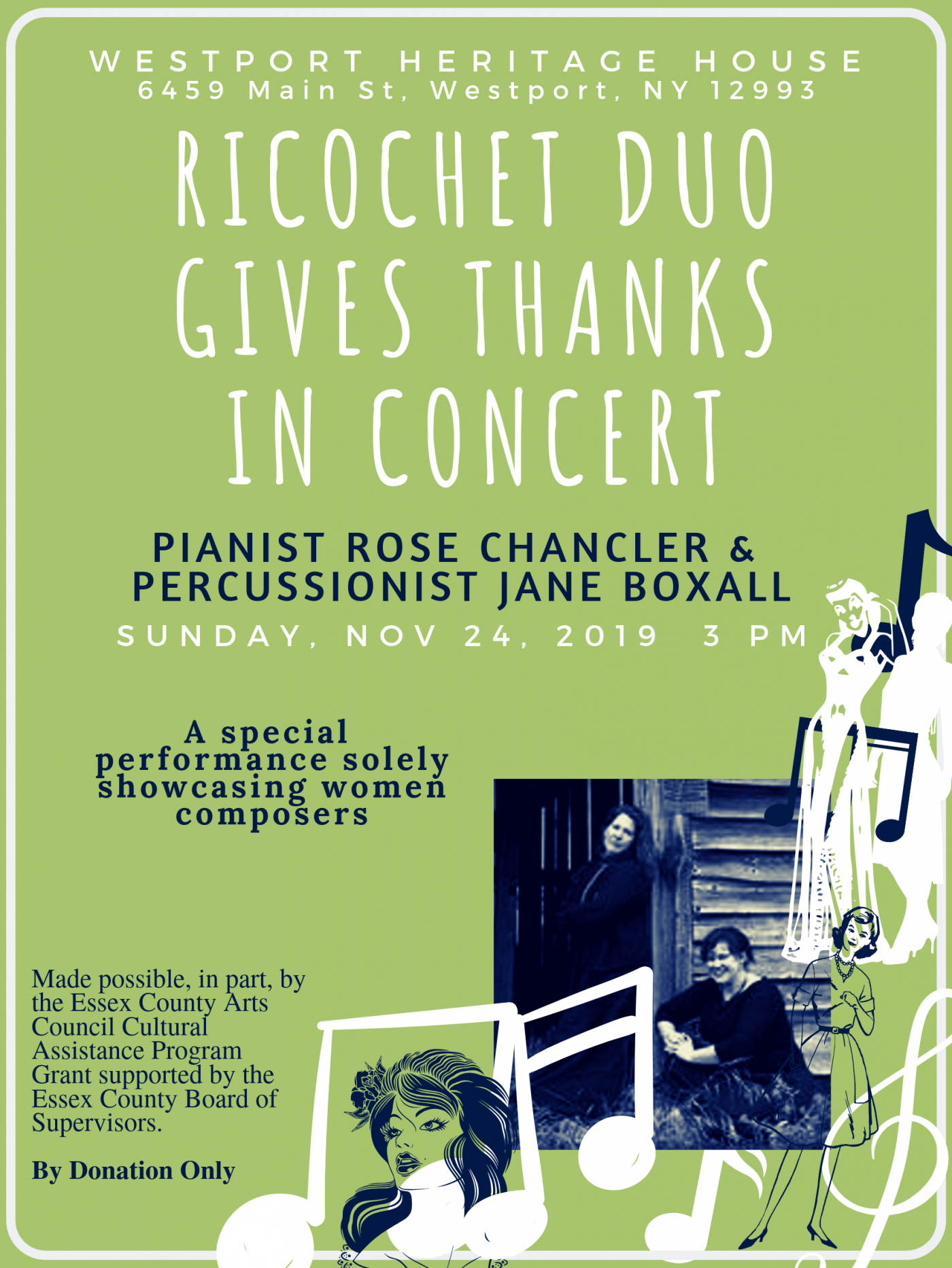 Ricochet Duo Concert