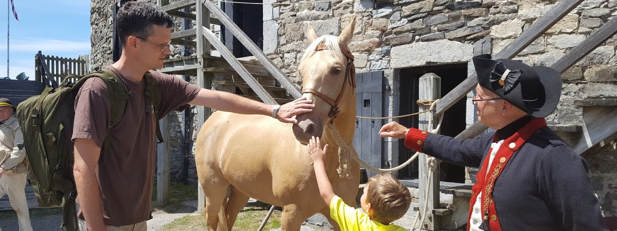 Heritage Harvest & Horse Festival at Fort Ticonderoga!