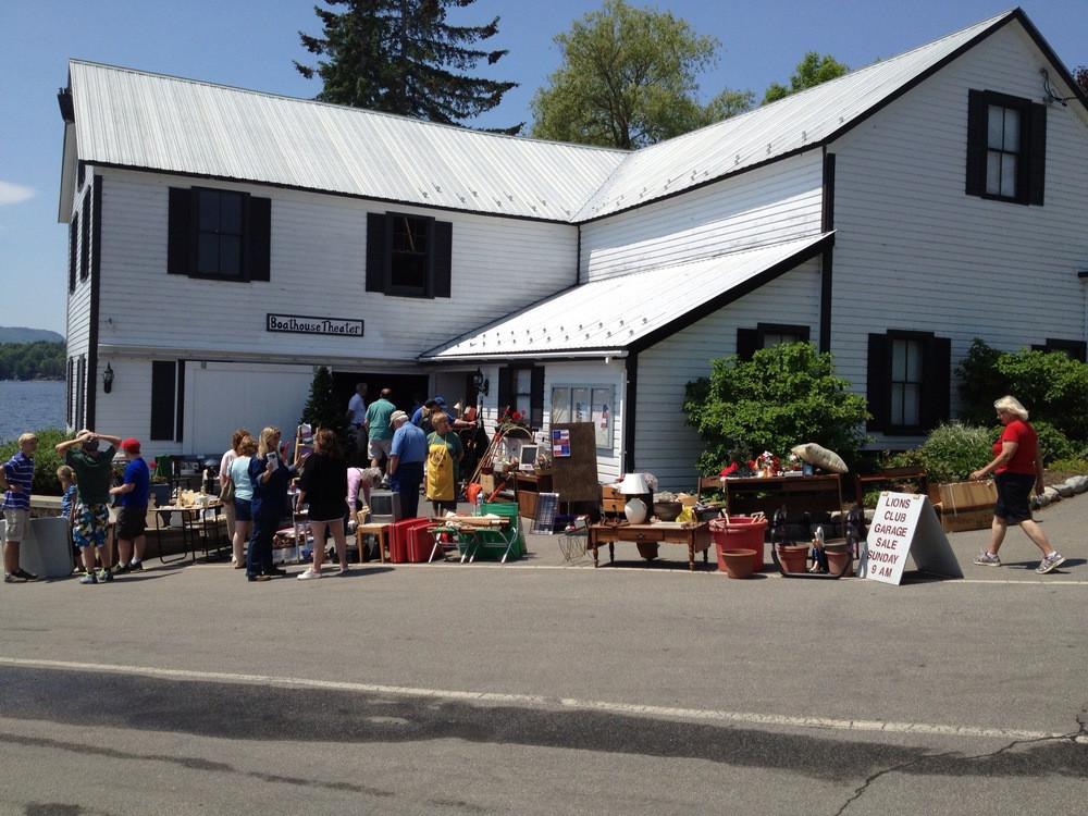 Schroon Lake Lions Club Garage Sale & Raffle