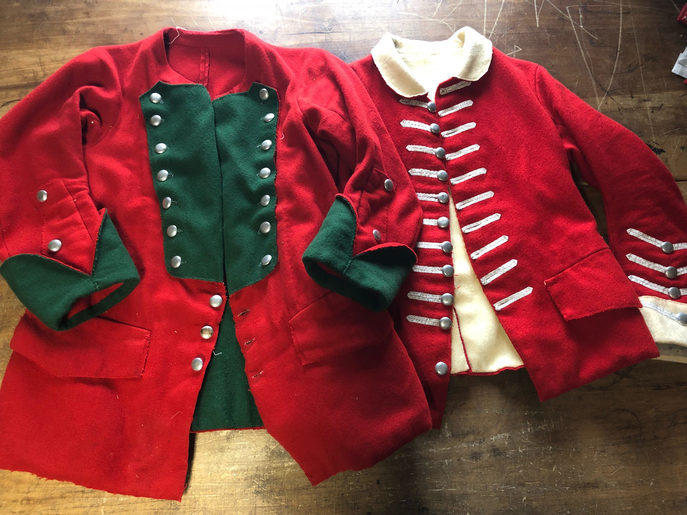 Winter Workshop Series: 1750s British Regimental Coats