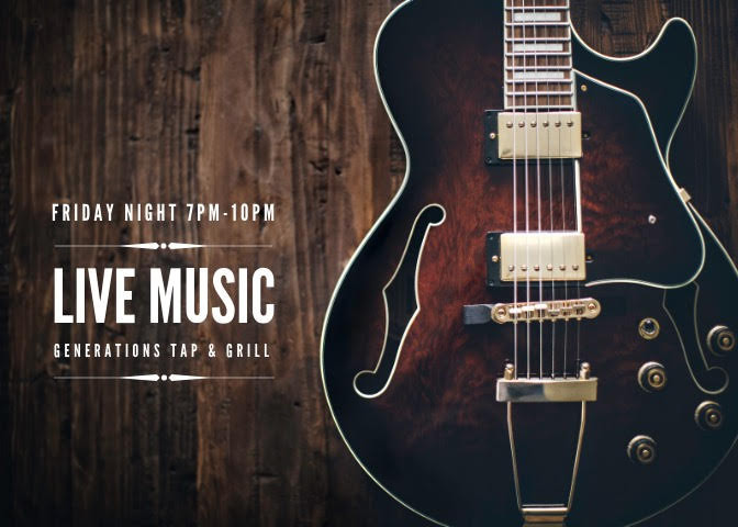 Live Music at Generations Tap & Grill