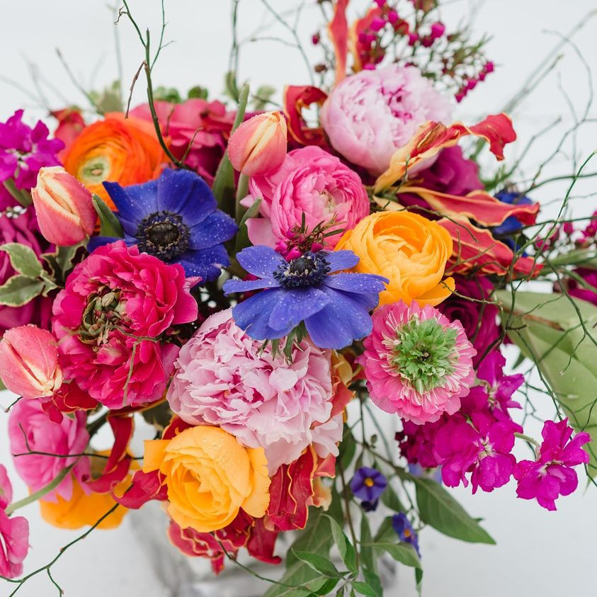 #ShopADK: Winter into Spring Bouquet Share