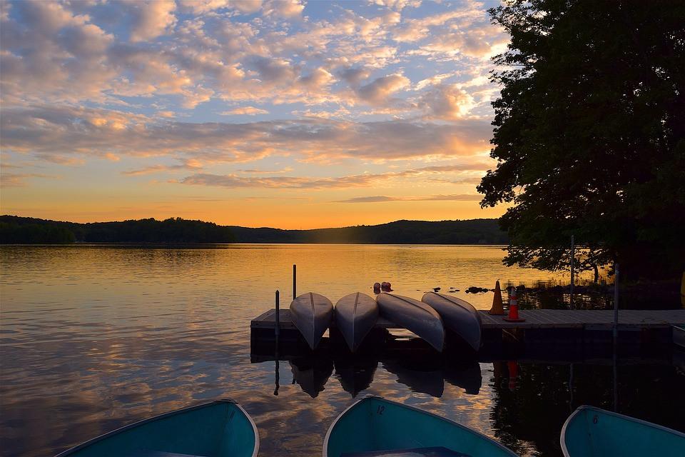 Evening Canoe Paddle