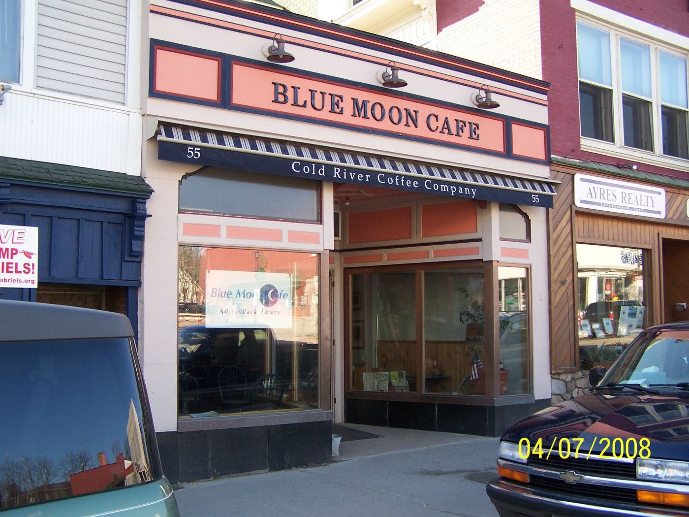 Blue Moon Cafe Offerings
