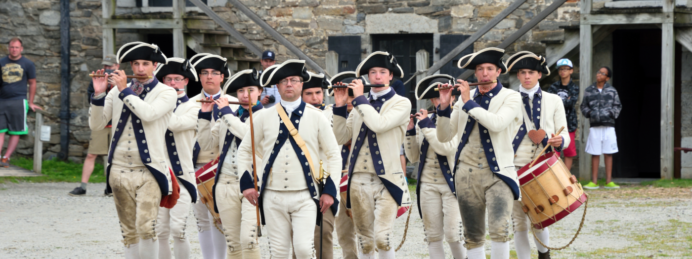 Fort Ticonderoga Living History Event: Sound of 1776