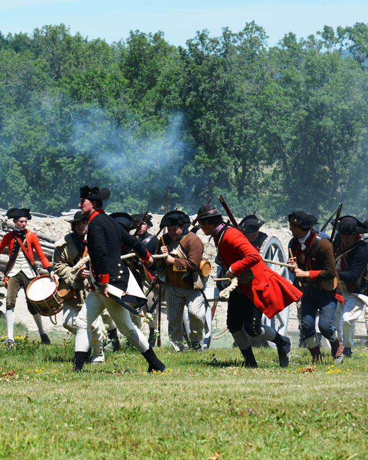 Battle Re-enactment: Defiance & Independence