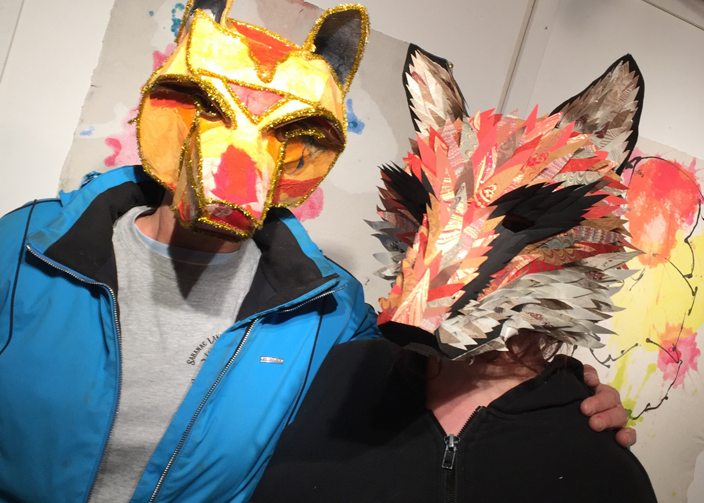 Get Your Prehistoric On: Mask-Making Workshop